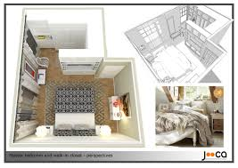 Small Bedroom With Walk In Closet House Design Ideas - Closet bedroom design