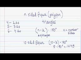 Interior Angles Of Polygon Proving The Formula For The Interior Angle Sum Of A Polygon 2