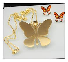 artificial bridal jewelry set gold indian butterfly