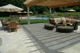 Travertine Patio Table Are You Thinking About Travertine For Your New Patio