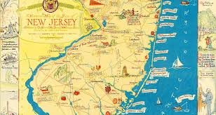 map of nj amazing map of new jersey filled with historical trivia knowol