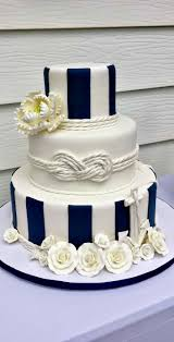 wedding cake theme 15 nautical rope wedding cakes diy weddings magazine