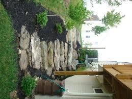 recent installation fieldstone steps garden pinterest side