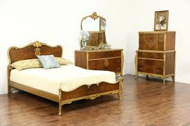 Full Size Bedroom Sets French Style 1940 U0027s Vintage 3 Pc Bedroom Set Full Size Bed