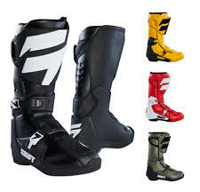 s moto x boots shift motorcycle boots ebay