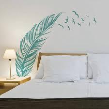 stickers deco chambre pochoir pour mur de chambre 10 stickers muraux c3 a0 coucher meubles