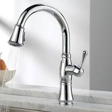 hands free kitchen faucet delta best faucets decoration