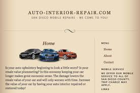 Car Interior Refurbishment Malaysia Auto Interior Repair Auto Repair North Park San Diego Ca
