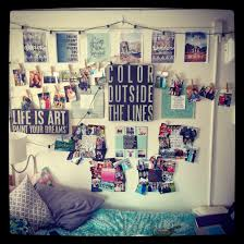Cool Bedroom Wall Collages Decor Cool Cute Wall Decorations For Dorm Rooms Decor Idea