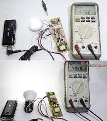 cara membuat powerbank menggunakan baterai abc menganti lu emergency dengan lu led