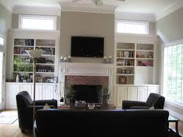 High Hang Tv Living Room Beautiful Tv Over Fireplace Design Ideas Contemporary Decorating