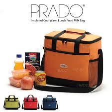 prado insulated large 16l cool warm lunch food mom baby milk bag