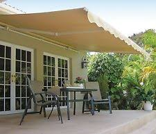 How Much Is A Sunsetter Retractable Awning Sunsetter Awnings U0026 Canopies Ebay