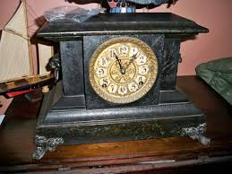 Ansonia Mantel Clock Antique Mantle Clock Seth Thomas Clocks U0026 Timepieces