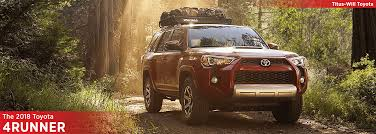 suv toyota 4runner 2018 toyota 4runner model information full size suv research