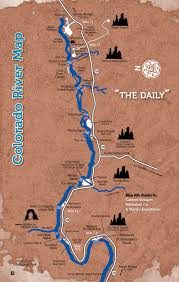Map Of Bend Oregon by Colorado River Map Free Guestguide Travel U0026 Leisure Publications