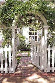 garden arbor with gate pinterest home outdoor decoration