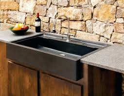 kitchen sink and faucet ideas outdoor bar sink with cover outdoor designs