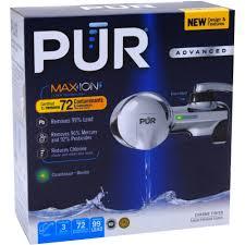 pur advanced faucet water filter chrome u0026nbsp fm 3700b walmart com