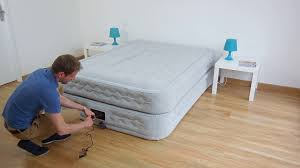 materasso elettrico materasso gonfiabile elettrico 2 piazze intex supreme bed fiber