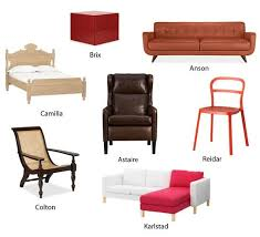 Names Of Furniture | how retailers give names to furniture apartment therapy