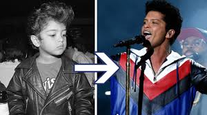 Bruno Mars Bruno Mars Evolution From Baby Elvis To Global Superstar