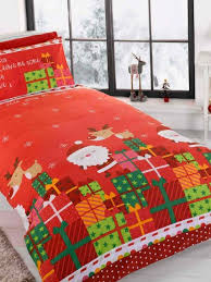 Santa Duvet Cover Christmas Bedding Duvet Covers For Kids And Adults