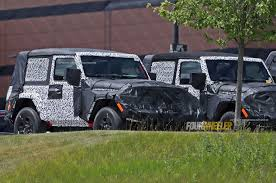 camo jeep yj spied 2018 jeep wrangler jl two door with limited camo photo