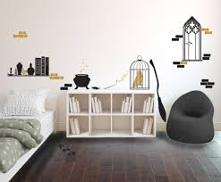 Vinyl Wall Stickers Custom Harry Potter Inspired Wizard S Room Collection Wall