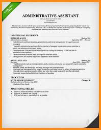 resume administrative assistant sample sample entry level resumes