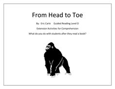eric carle coloring pages from head to toe powerpoint literature sonlight p3 4 from head