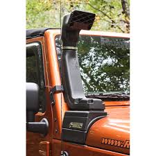 white linex jeep jeep wrangler snorkels by rugged ridge