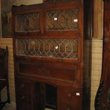 Antique Bookcase Desk Combo Inventory Olde Chicago Antiques Antique And Vintage Shops In