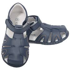 l u0027amour navy blue fisherman closed heel sandals little boys 11 1