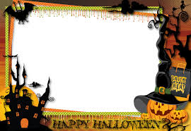 halloween borders clipart printable halloween trick or treat text and frame clip art library