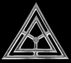 Diamond Fireplace Glass Stainless Steel Triangle Fire Rings 12 Inch U2013 Fireplace Glass