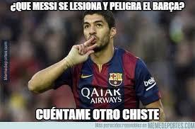 Los Memes De Messi - los memes de la lesi祿n de messi fanbolero
