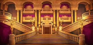 King Of Backdrops Grand Theatre Foyer Scenic Stage Backdrop Rental Theatreworld