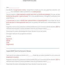 Donation Letter Sample For Non Profit Organization Dandy Non Profit Thank You Letter U2013 Letter Format Writing