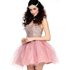 new arrival short mini blush homecoming dresses with rhinestone