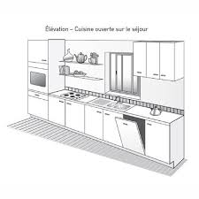 amenager cuisine 6m2 plan de cuisine