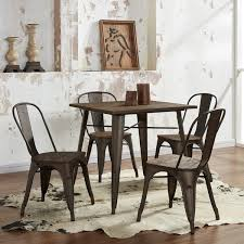Industrial Style Dining Room Tables Modus Industrial Style Dining Table Free Shipping Today