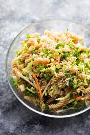 pasta salad meal prep sesame chicken pasta salad sweet peas and saffron