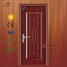 china manufacture embossed flower pattern pvc covering front door