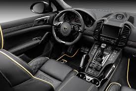 Porsche Cayenne Red Interior - topcar porsche cayenne ii vantage carbon edition