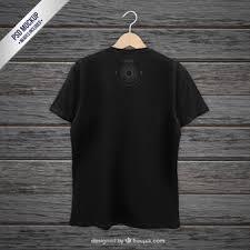 desain baju kaos hitam polos t shirt vectors photos and psd files free download