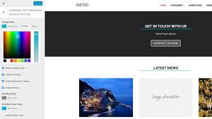 colors home page initio wordpress theme free and premium wordpress themes