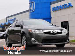 2012 toyota camry se specs used 2012 toyota camry se limited edition for sale in arlington tx