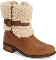ugg womens boots nordstrom ugg blayre ii shearling cuff bootie nordstrom