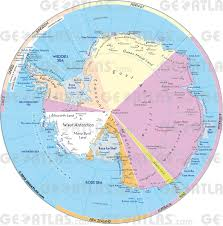 World Map With Antarctica by Geoatlas Continental Maps Antarctica Map City Illustrator